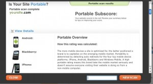 Portable Subscore