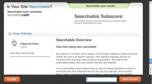 Searchable Score