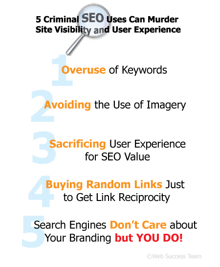 Criminal SEO usage. Web Success Team