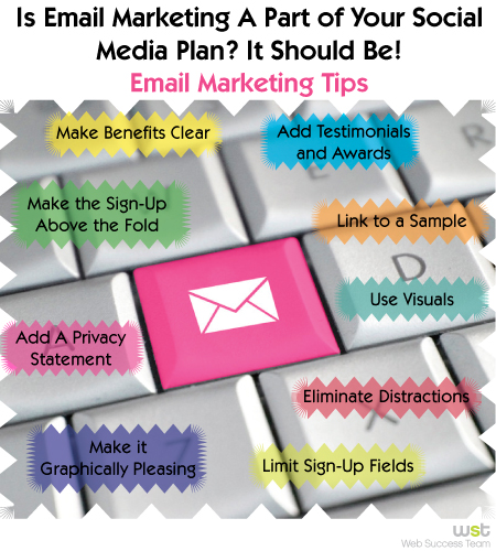 Email Marketing Tips ~ Web Success Team
