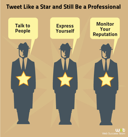 Tweet Like a Star and Still Be a Professional