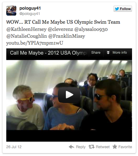 Call Me Maybe, Olympic Version