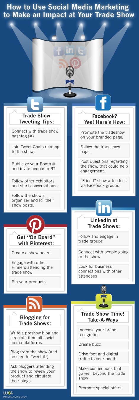How to Use Social Media Marketing to Make an Impact at Your Trade Show