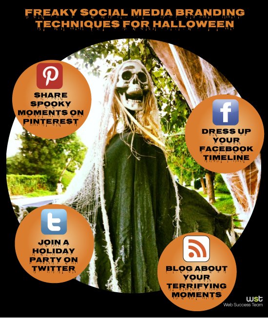 Freaky Social Media Branding Techniques for Halloween