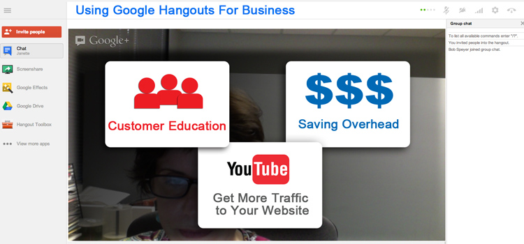 Using Google Hangouts For Business