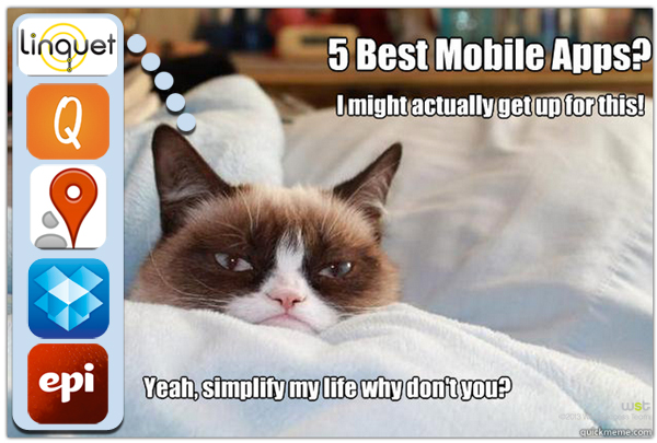 The Five Best Mobile Apps For Simplifying Your Life
