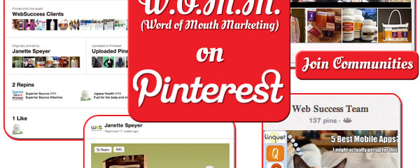 Word of Mouth Marketing on Pinterest
