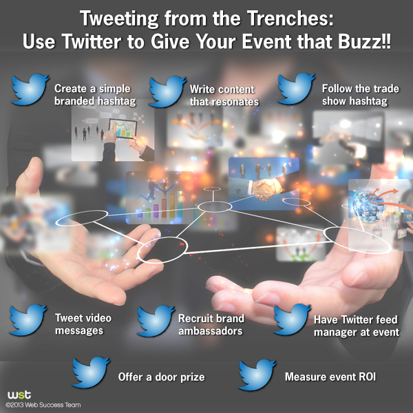 Tweeting from the Trenches: Use Twitter to Give Your Event that Buzz