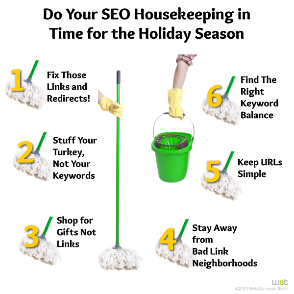Do Your SEO Housekeeping in Time for the Holiday Season
