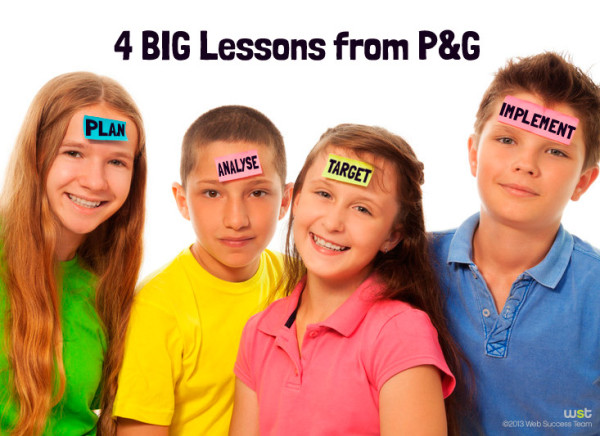 4 BIG lessons from Procter and Gamble
