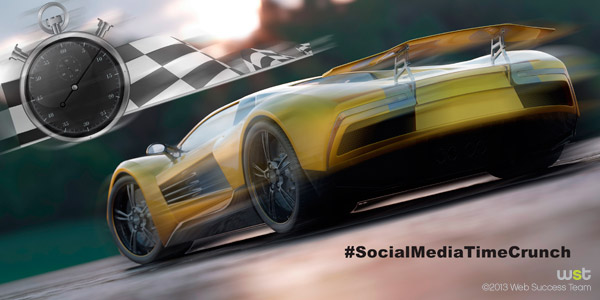 How to Overcome the Social Media Time Crunch Syndrome
