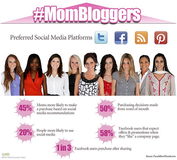 Mom Blogger stats