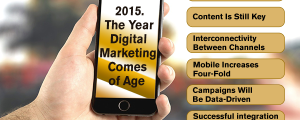 2015… The Year Digital Marketing Comes of Age
