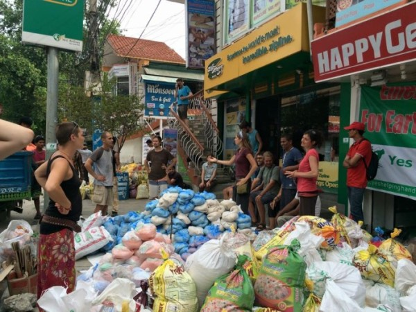 Transforming a Holiday in Nepal to Aid Nepali Earthquake Victims.