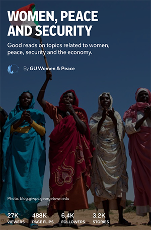 GU Women and Peace