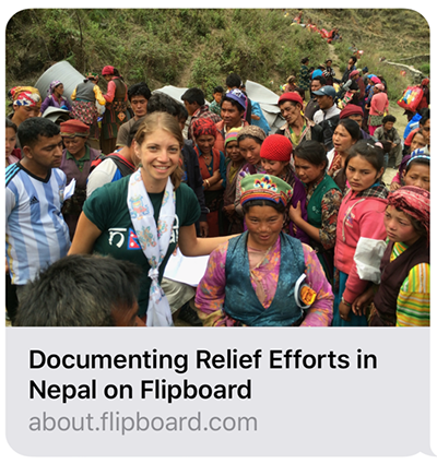 Aiding the Nepal Earthquake Relief
