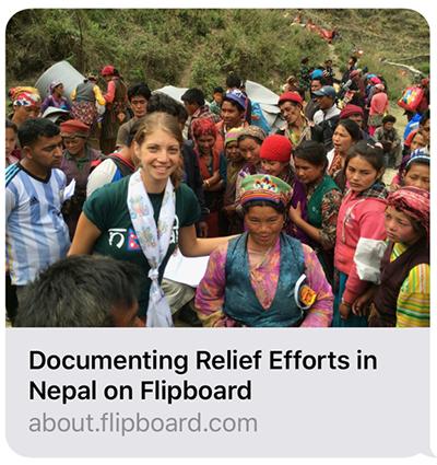 Aiding the Nepal Earthquake Relief